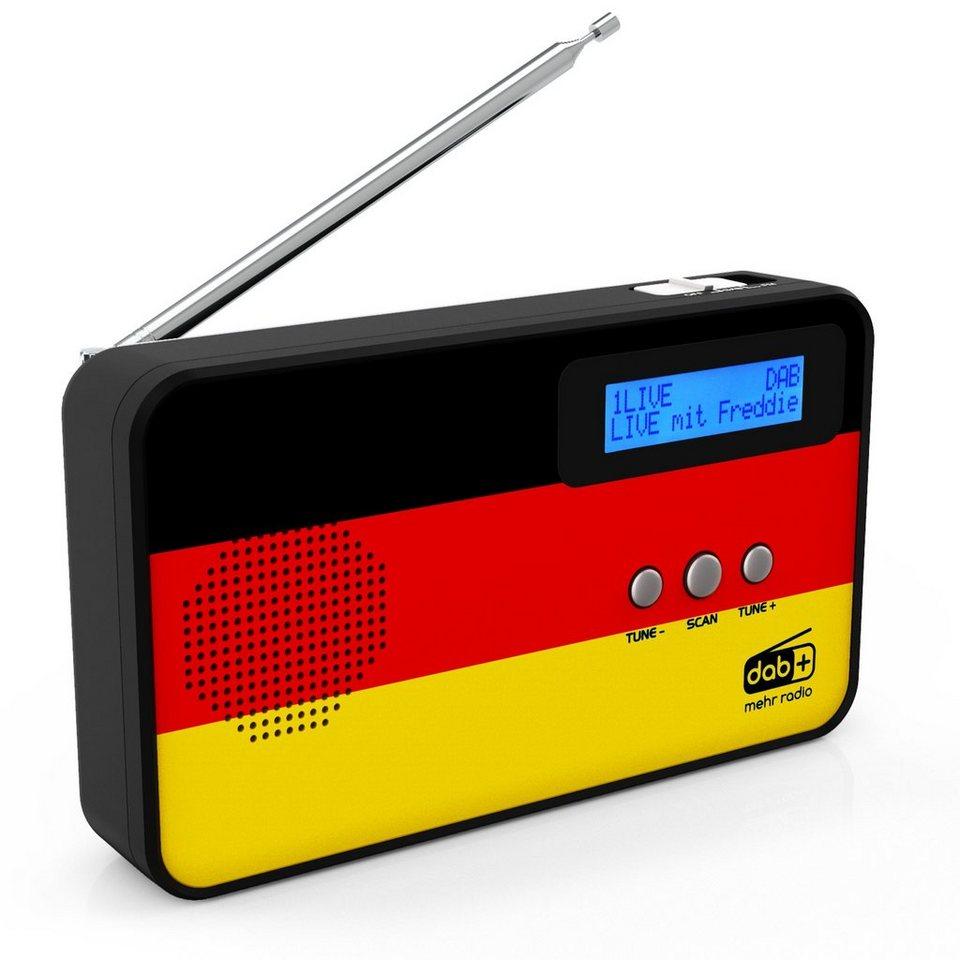 sky vision dab fm radio mit deutschland flagge dab 100. Black Bedroom Furniture Sets. Home Design Ideas