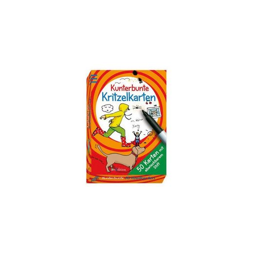 arsEdition Verlag Kunterbunte Kritzelkarten
