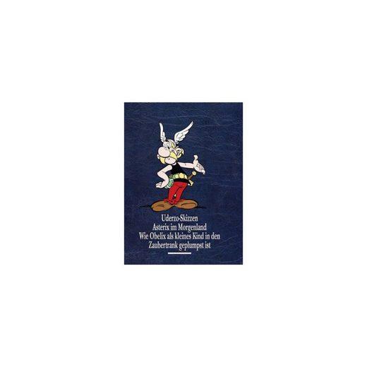 Egmont Asterix Gesamtausgabe: Asterix im Morgenland / Uderzo Skizze