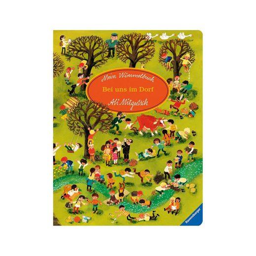 Ravensburger Mein Wimmelbuch: Bei uns im Dorf