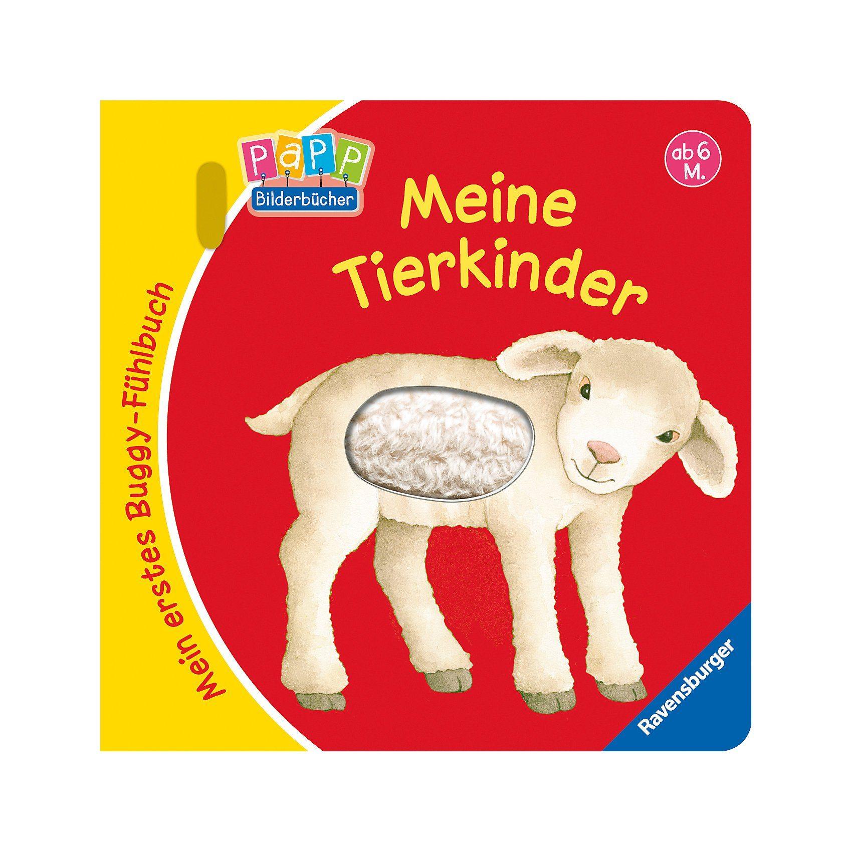 Ravensburger Mein erstes Buggy-Fühlbuch: Meine Tierkinder