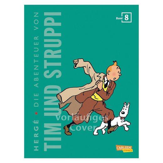 Carlsen Verlag Die Abenteuer von Tim und Struppi (Kompaktausgabe), Band 8