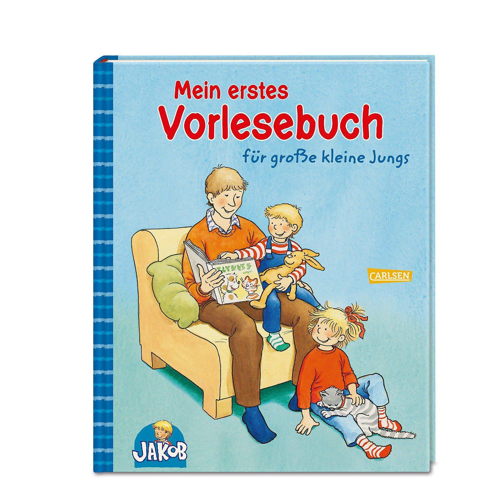 Carlsen Verlag Mein erstes Vorlesebuch für große kleine Jungs