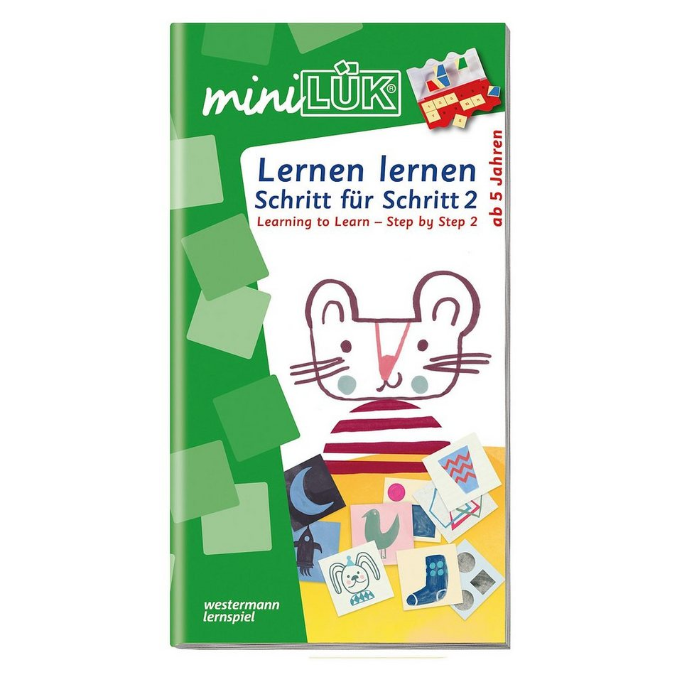 Westermann Verlag mini LÜK: Learning - Step by Step 2, Übungsheft online kaufen