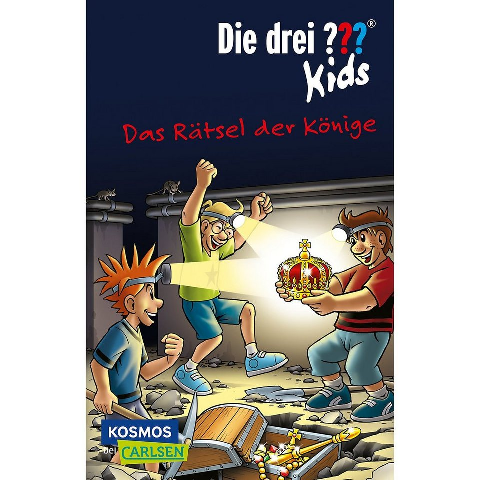 Carlsen Verlag Die drei Fragezeichen Kids: Das Rätsel der Könige online kaufen