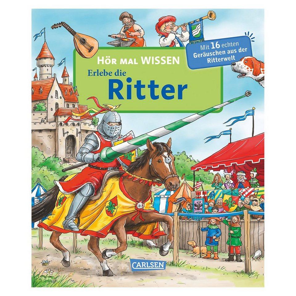 Carlsen Verlag Hör mal: Erlebe die Ritter, Soundbuch online kaufen