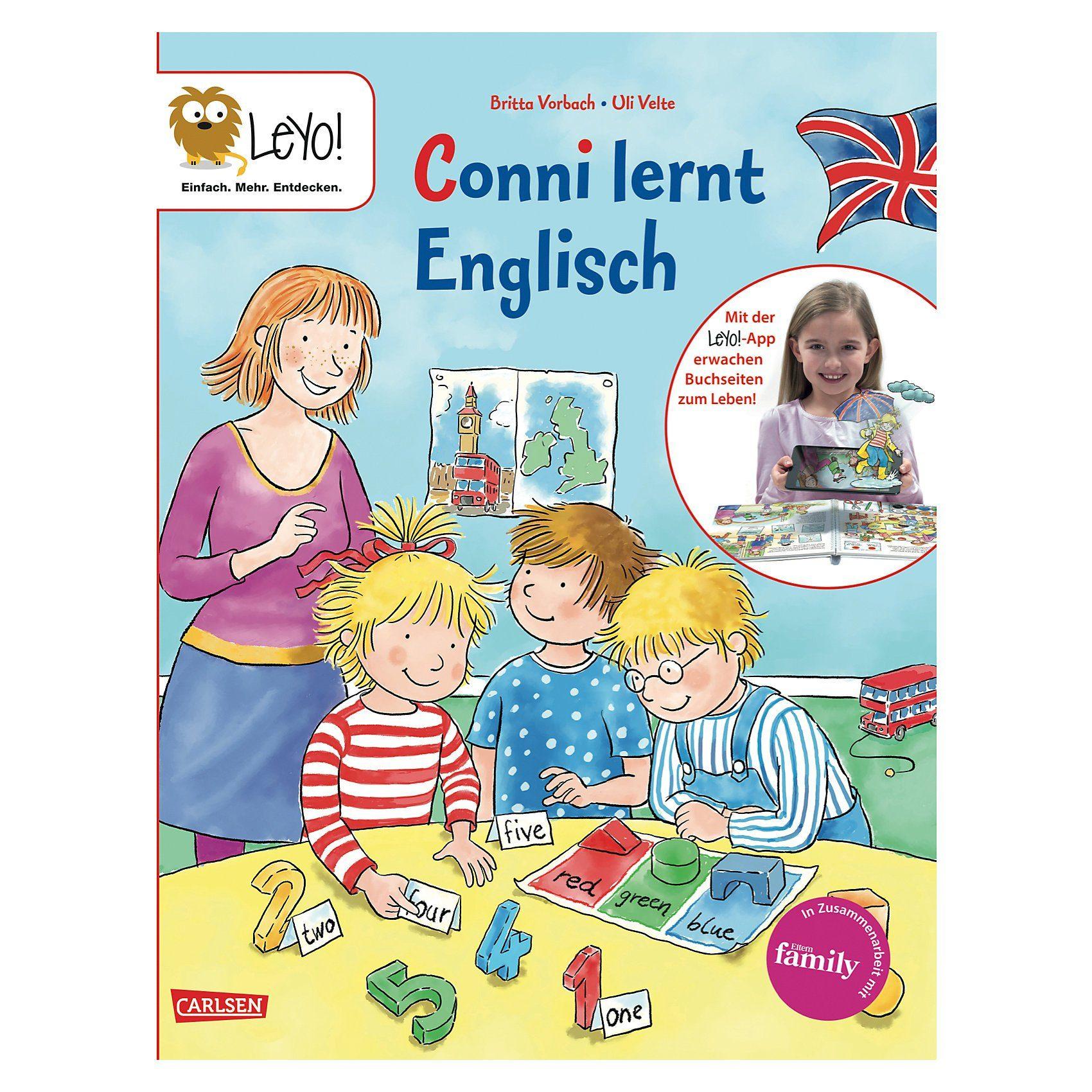 Carlsen Verlag LeYo!: Conni lernt Englisch
