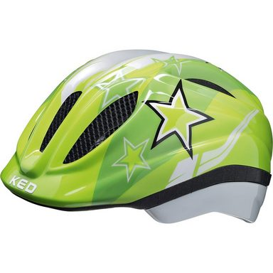 KED Helmsysteme Fahrradhelm Meggy Sterne, grün