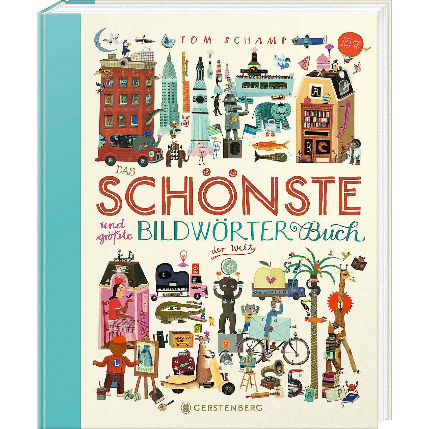 Gerstenberg Verlag Das schönste und größte Bildwörterbuch der Welt