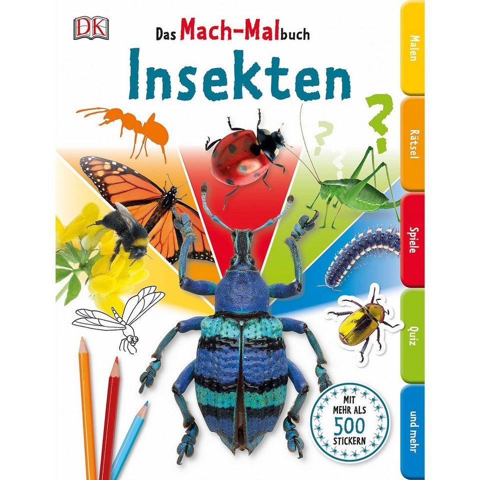 Dorling Kindersley Verlag Das Mach-Malbuch: Insekten online kaufen