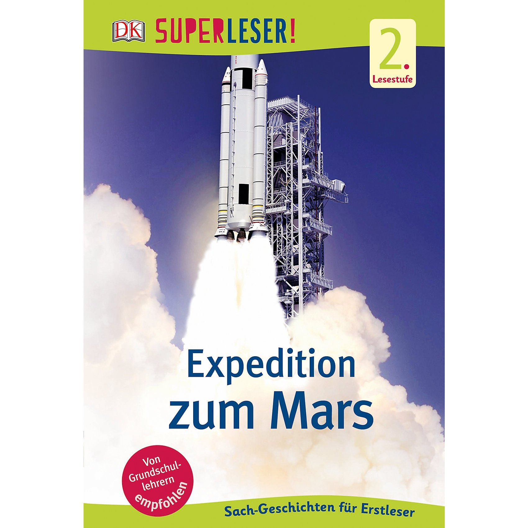 Dorling Kindersley Verlag SUPERLESER! Expedition zum Mars