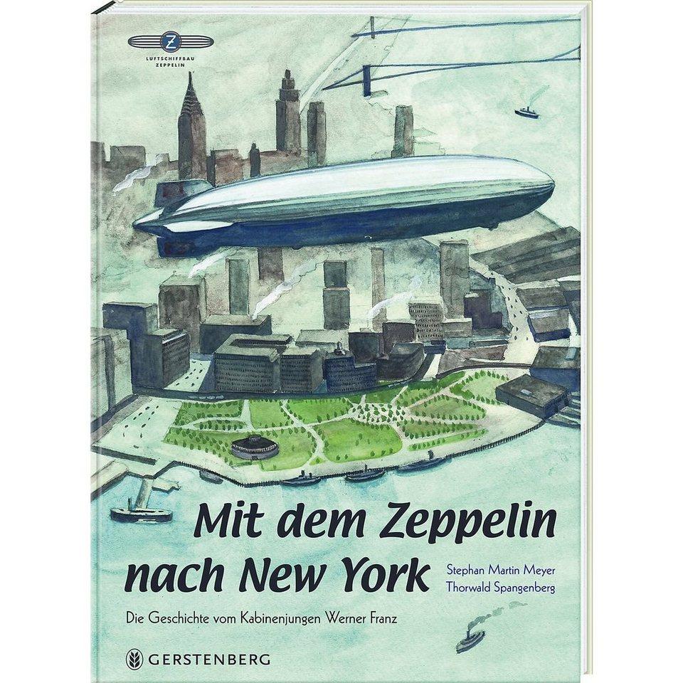 Gerstenberg Verlag Mit dem Zeppelin nach New York