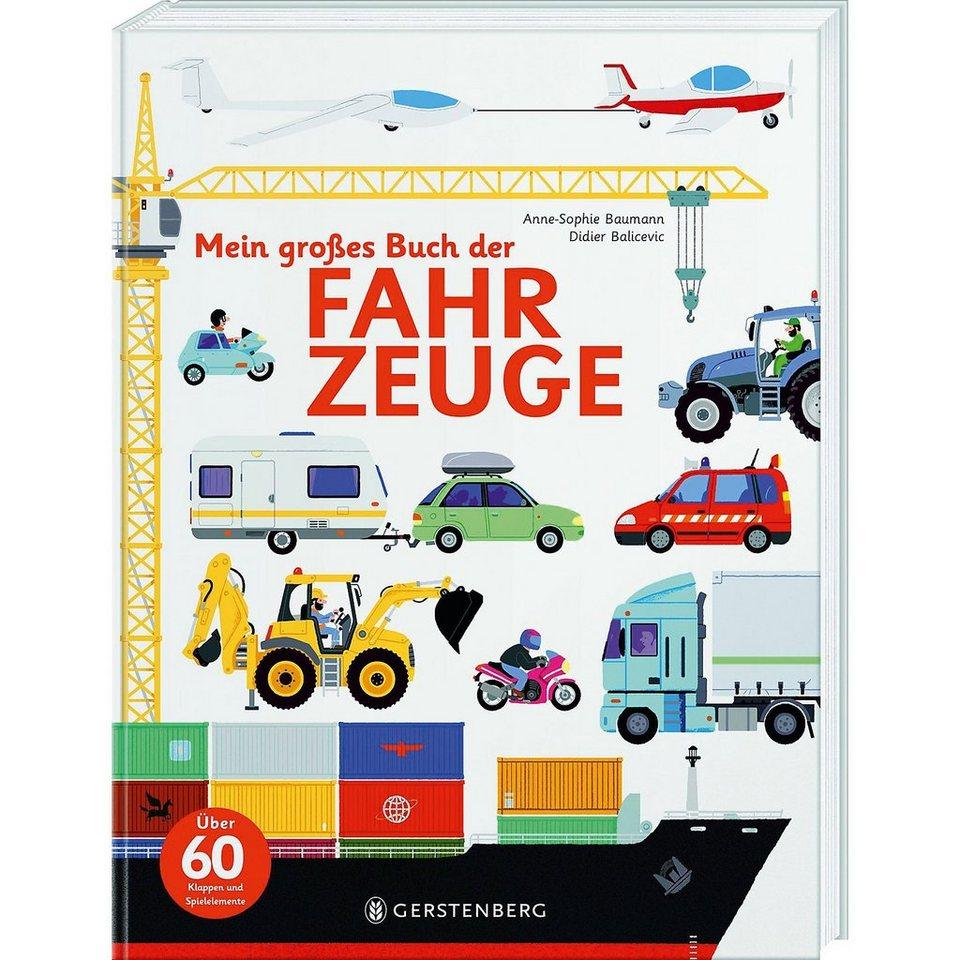 Gerstenberg Verlag Mein großes Buch der Fahrzeuge
