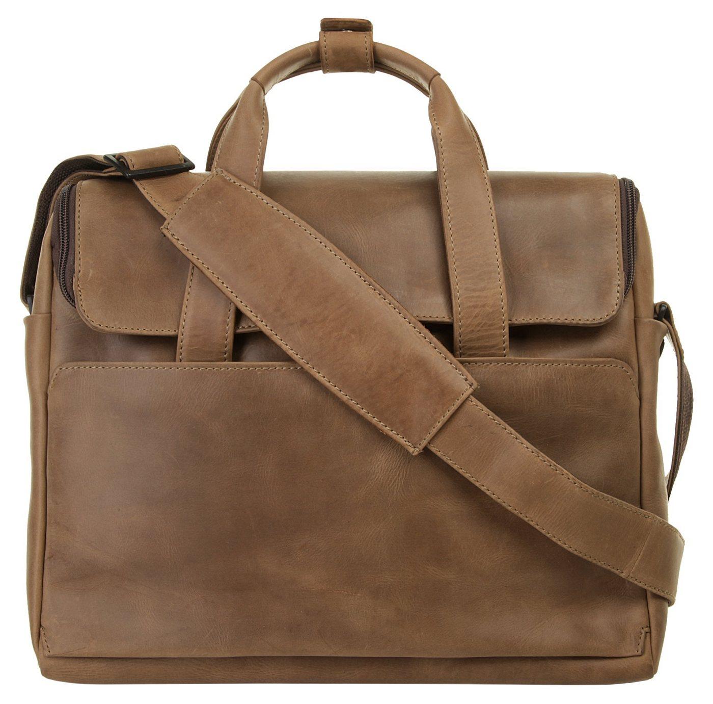Harold´s Laptoptasche »2IN1«, vegetabil gegerbt   Taschen > Business Taschen > Laptoptaschen   Braun   Harold´s