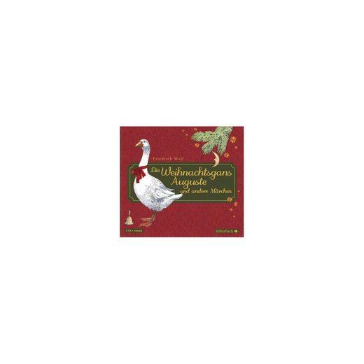 Carlsen Verlag Die Weihnachtsgans Auguste und andere Märchen, 1 Audio-CD