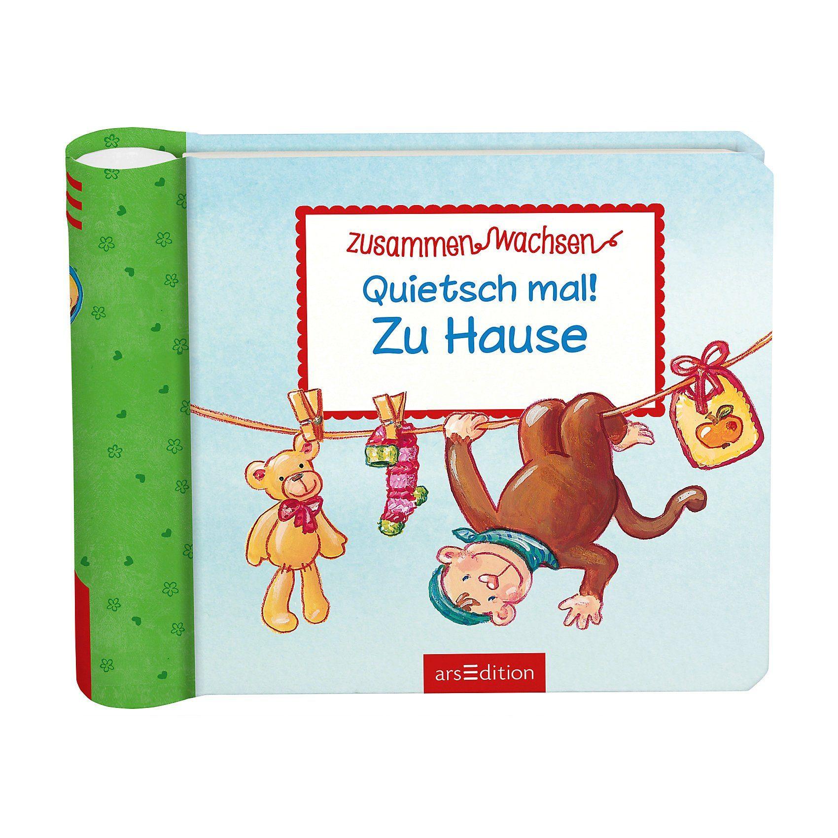 arsEdition Verlag Quietsch mal! Zu Hause