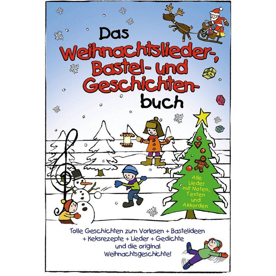 Das Weihnachtslieder-, Bastel- und Geschichtenbuch | OTTO