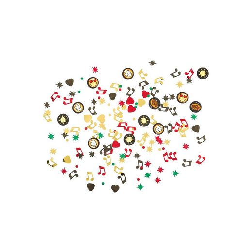 Amscan Motivkonfetti/StreudekoSmiley Emoticons, 34 g