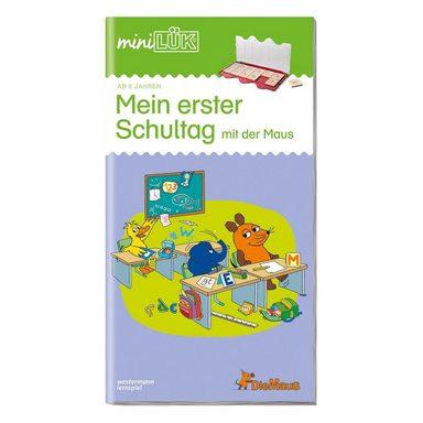 Westermann Verlag mini LÜK: Mein erster Schultag mit der Maus, Übungsheft