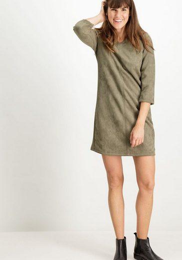 Garcia A-Linien-Kleid in Wildleder-Optik