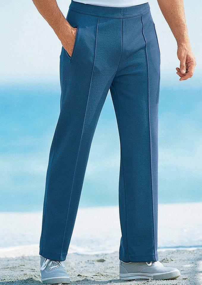 Dannecker Freizeithose mit geradem Beinabschluss in jeansblau