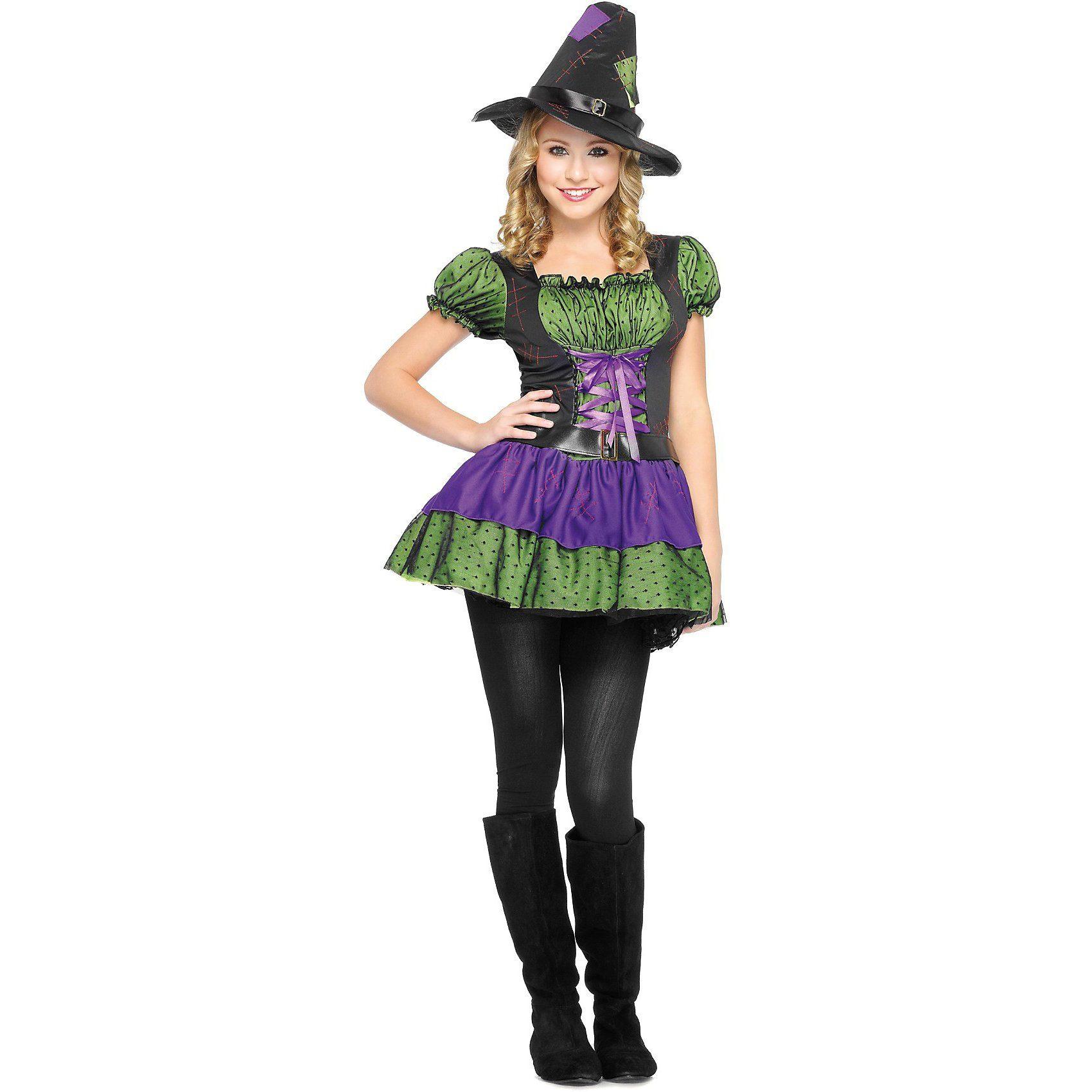 Maskworld Kostüm freche Hexe (Teen)