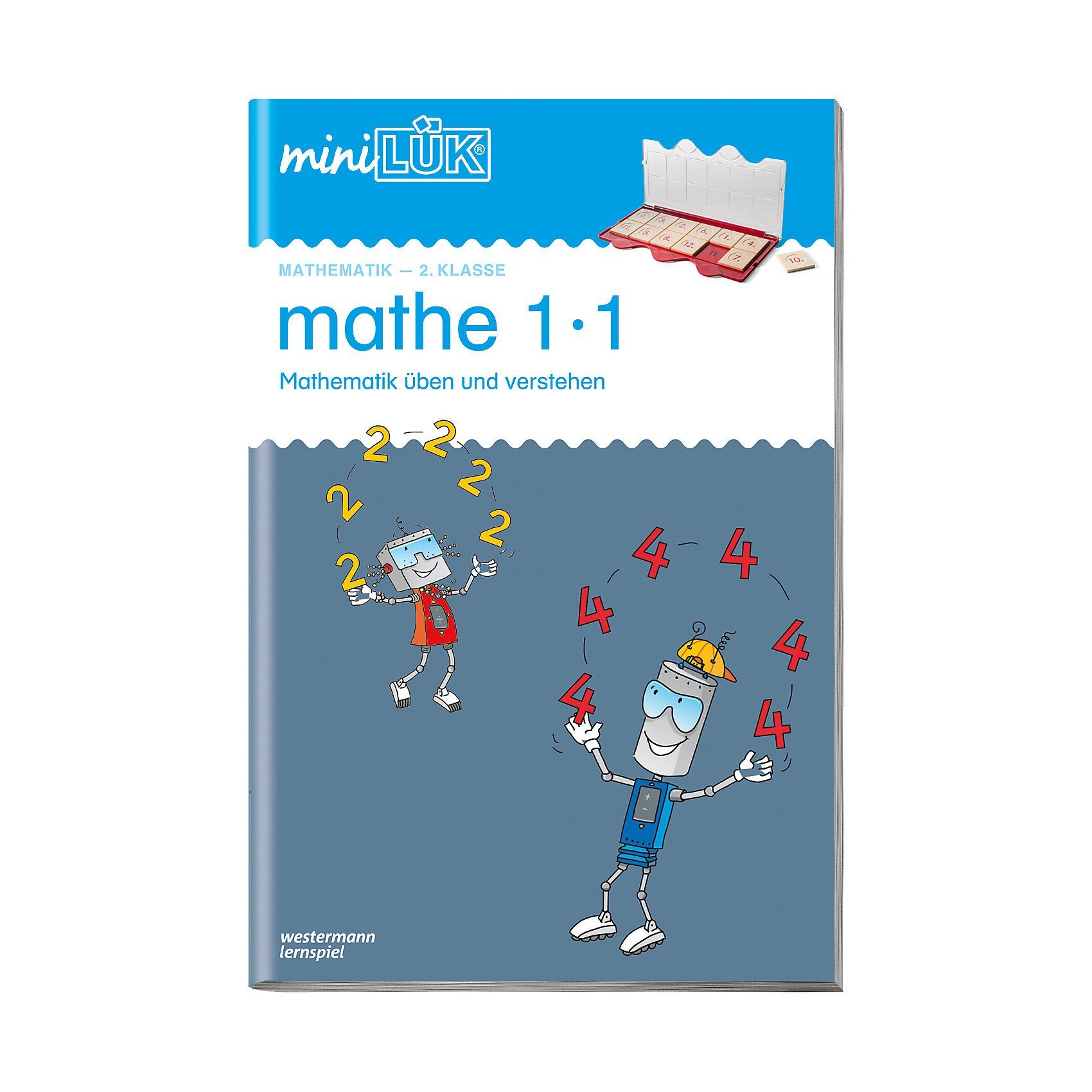 Westermann Verlag mini LÜK: Mathe 1x1, Übungsheft