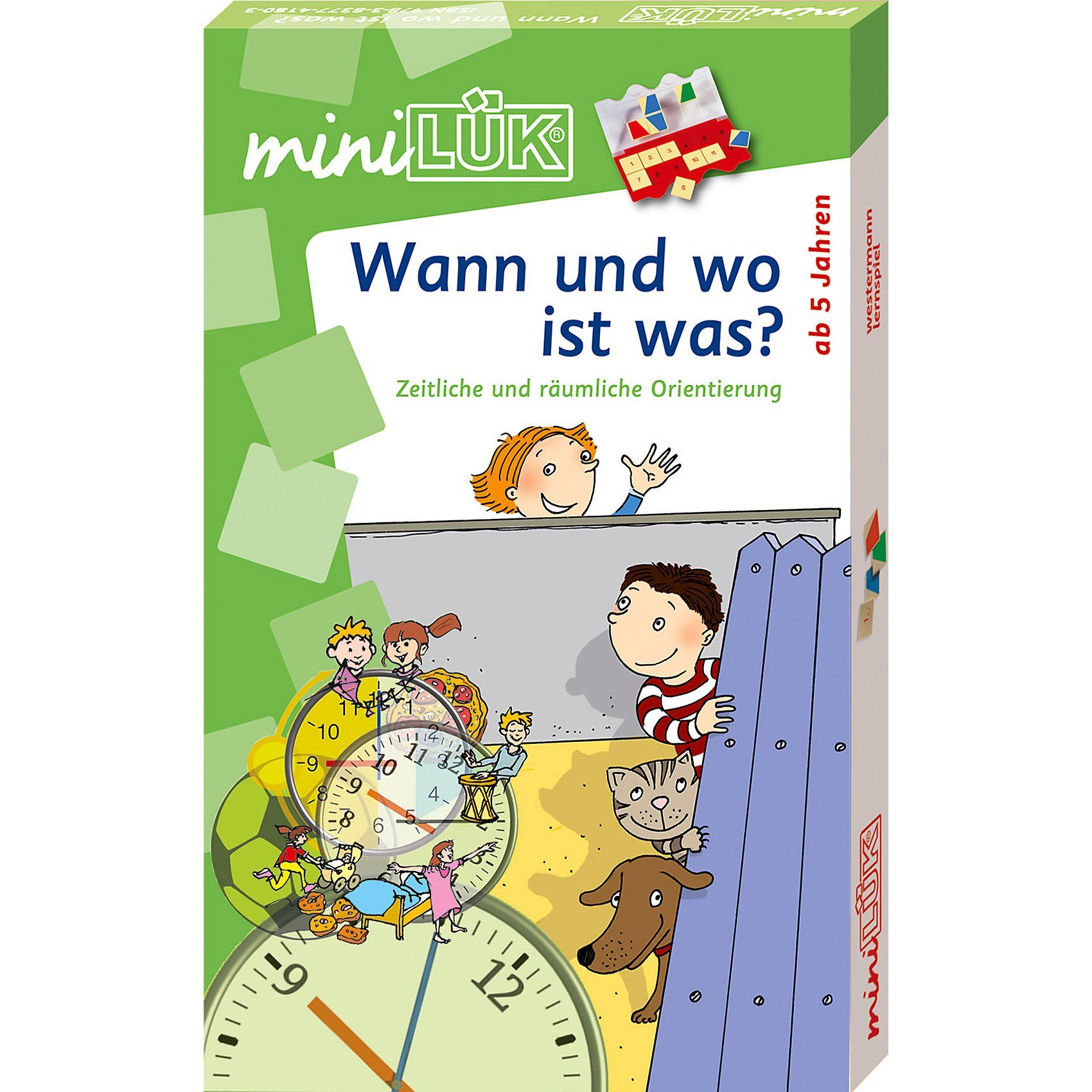Westermann Verlag mini LÜK-Set: Wann und wo ist was?
