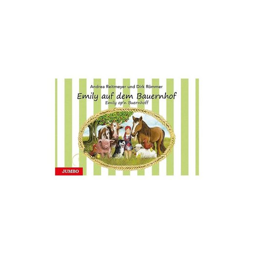 JUMBO Verlag Emily auf dem Bauernhof / Emily op'n Buernhoff