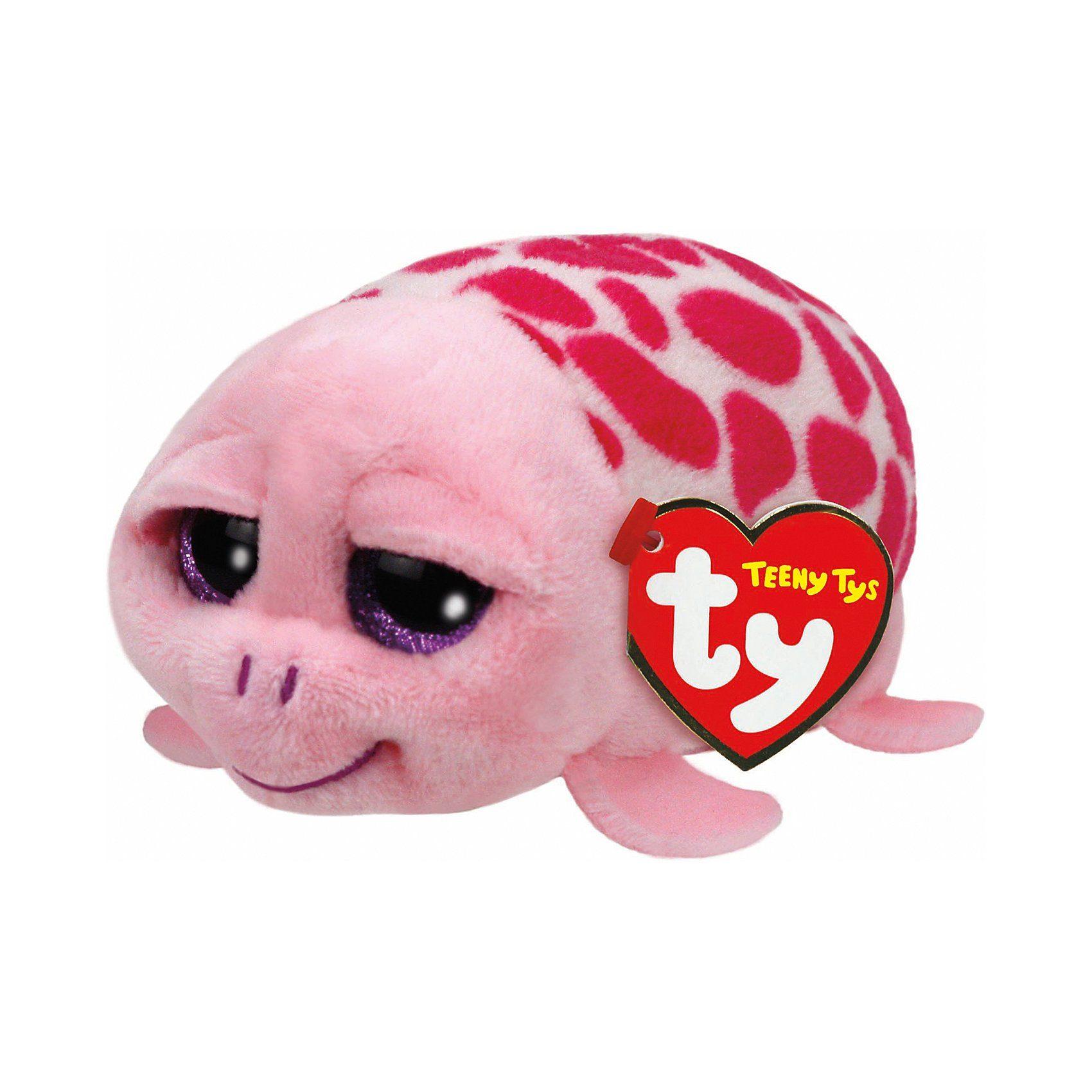 Ty® Schildkröte Shuffler, pink 10 cm