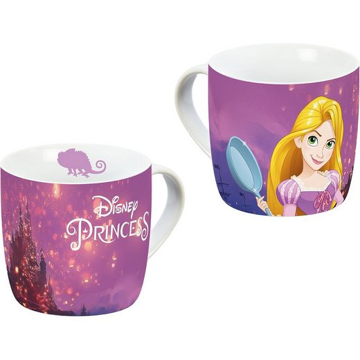 Tasse Porzellan Disney Princess Rapunzel, 250 ml
