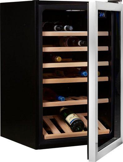 Hanseatic Weinkühlschrank 23538138, für 30 Standardflaschen á 0,75l