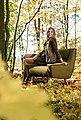 Max Winzer® Sessel »Heddy«, mit Ablagen aus Holz, Bild 10
