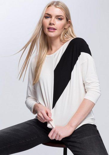 OPUS Oversize-Shirt »Siagona« mit überschnittenen Schultern
