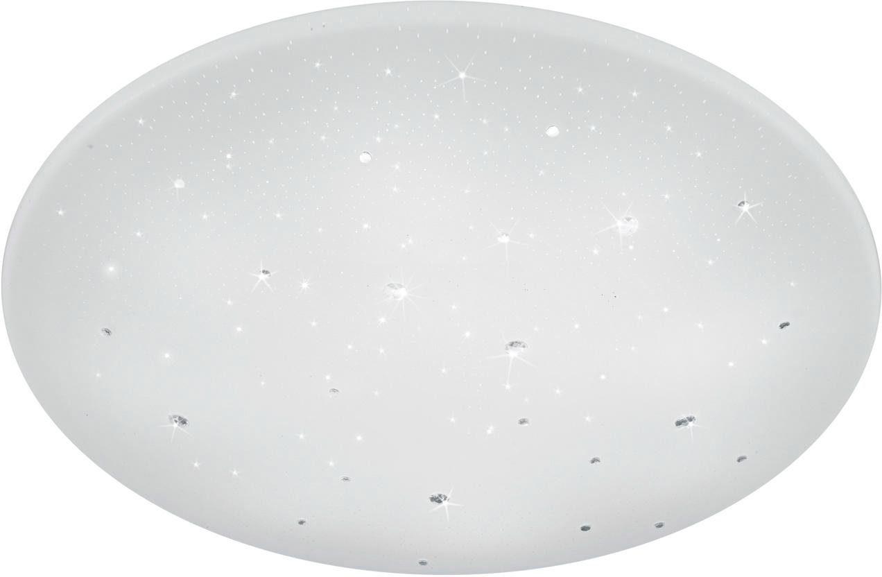 TRIO Leuchten LED Deckenleuchte »Starlight-Effekt«, 1-flammig, Ø 60 cm