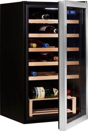 Hanseatic Weinkühlschrank 73952320 SC98W, für 24 Standardflaschen á 0,75l