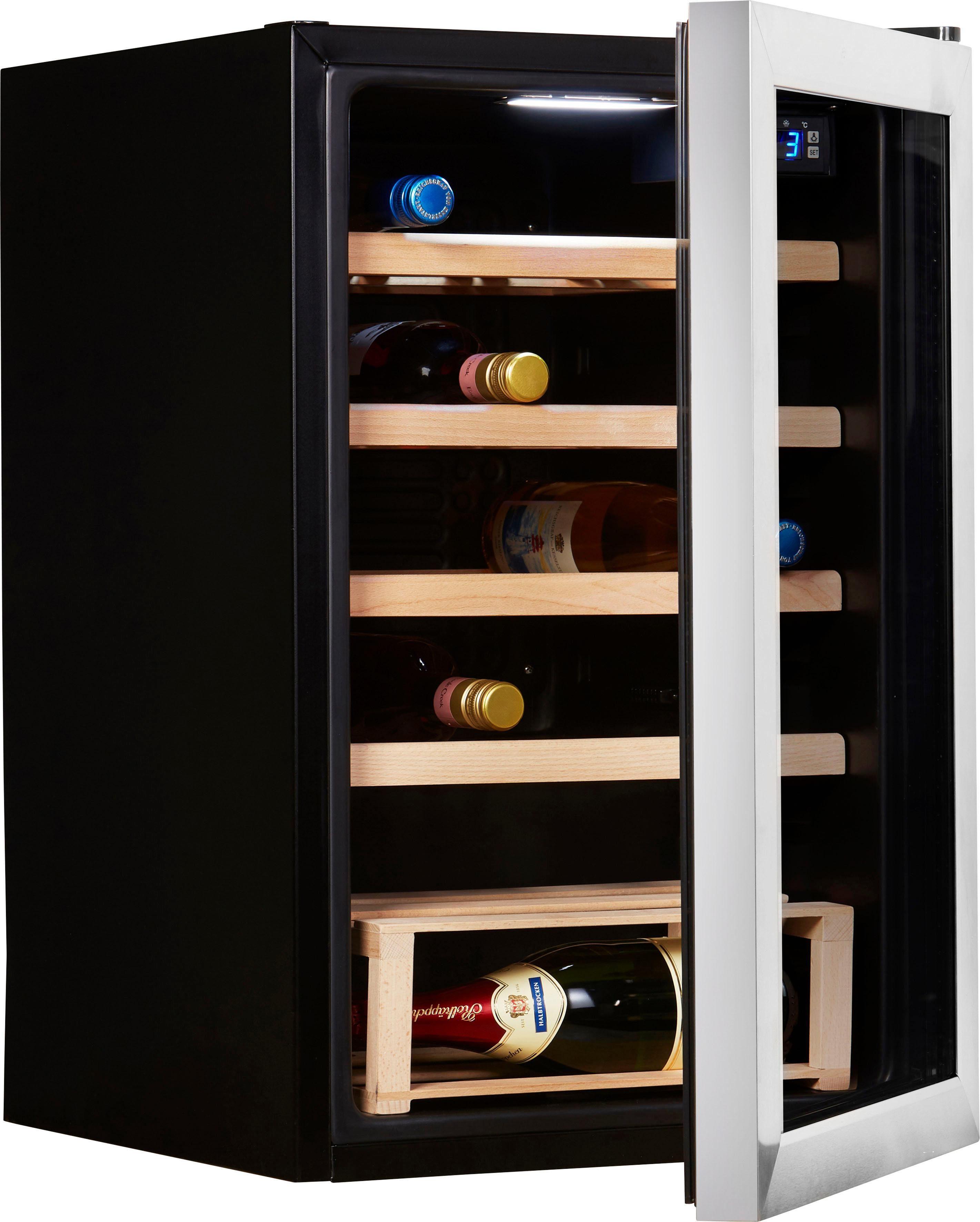 Hanseatic Weinkühlschrank SC-70W, für 20 Standardflaschen á 0,75l,A+