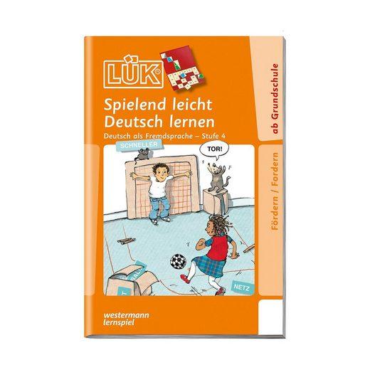 Westermann Verlag LÜK: Spielend leicht Deutsch lernen, Stufe 4 - Deutsch als F