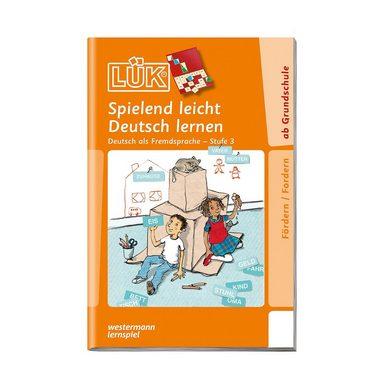 Westermann Verlag LÜK: Spielend leicht Deutsch lernen, Stufe 3 - Deutsch als F