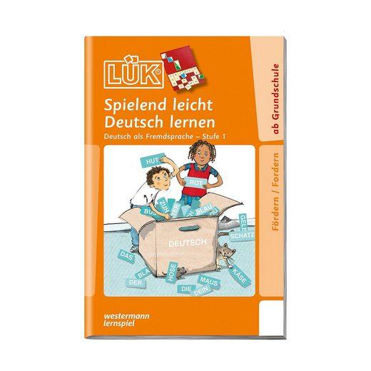 Westermann Verlag LÜK: Spielend leicht Deutsch lernen, Stufe 1 - Deutsch als F