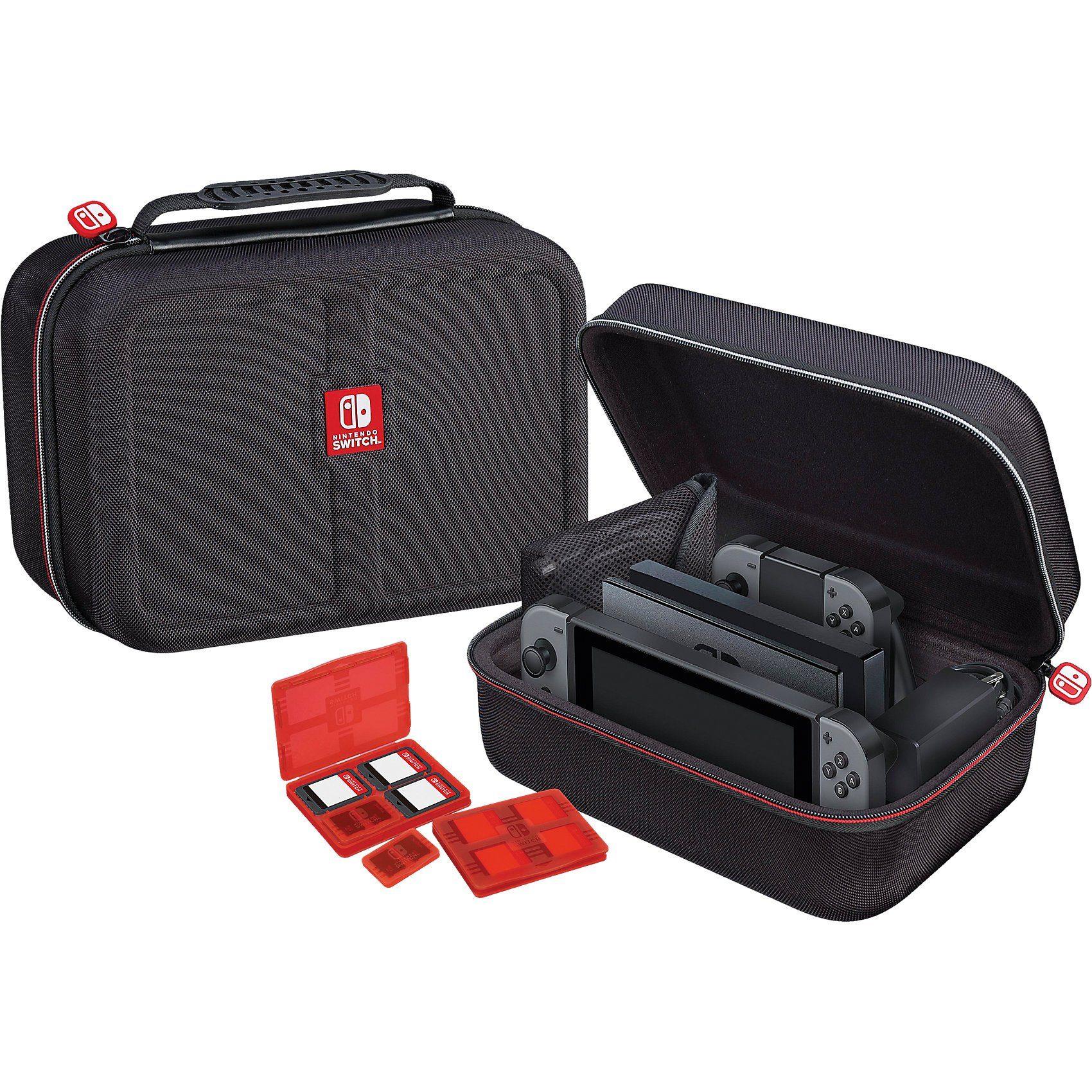 BigBen Switch Tasche Deluxe Case - Offiziell lizenziert [black]
