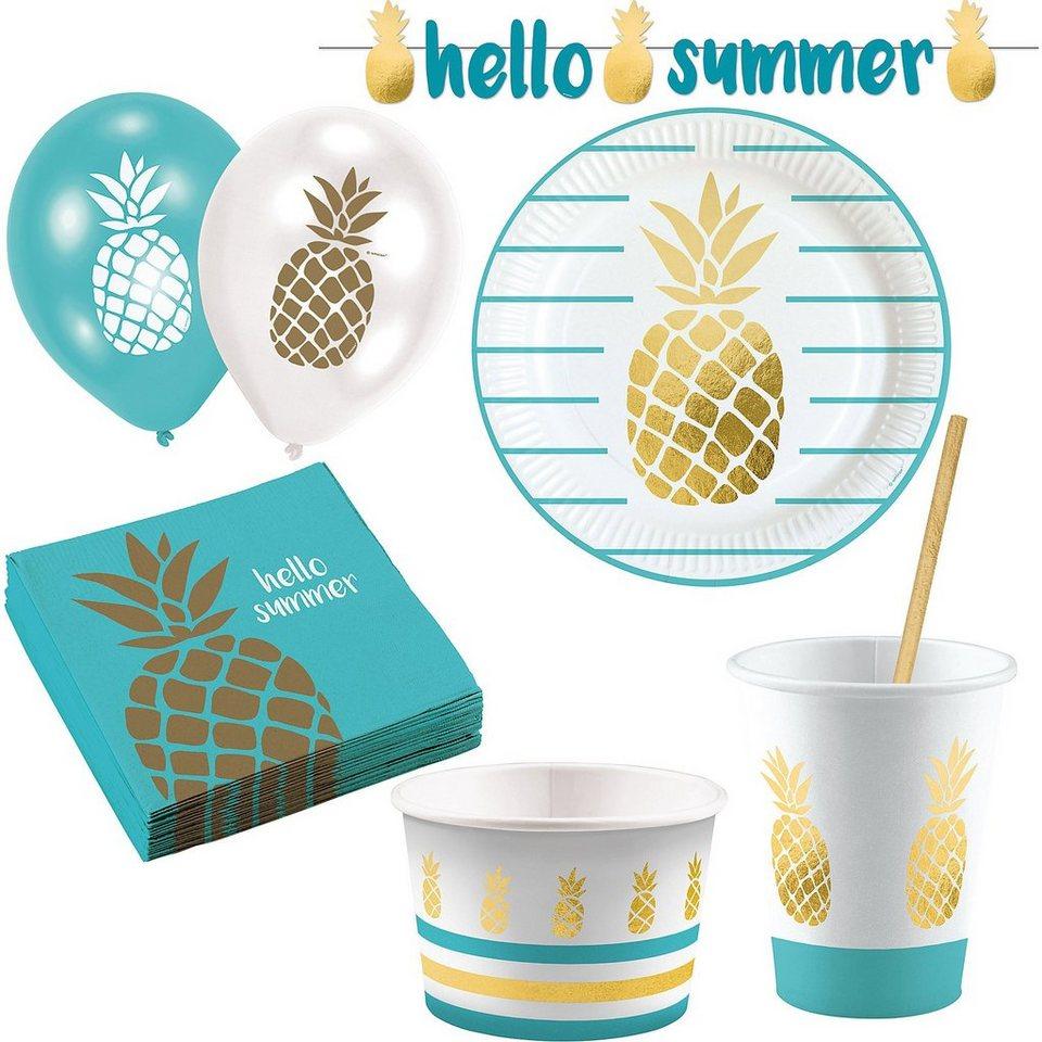 Amscan Partyset Ananas Pineapple, 63-tlg. kaufen