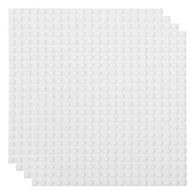 Basisplatte 20x20 Weiß Viererpack