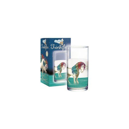 TapirElla Trinkglas Einhorn Lunabelle
