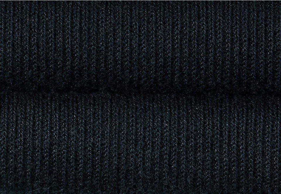 Reisestützkniestrümpfe (4 Paar) in schwarz