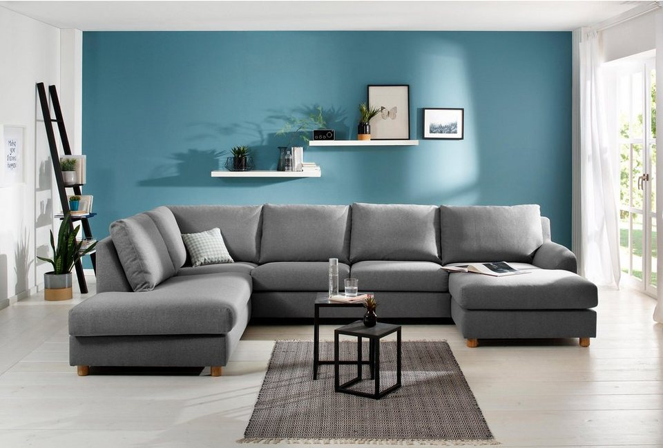 home affaire wohnlandschaft kolding im nordischen stil. Black Bedroom Furniture Sets. Home Design Ideas