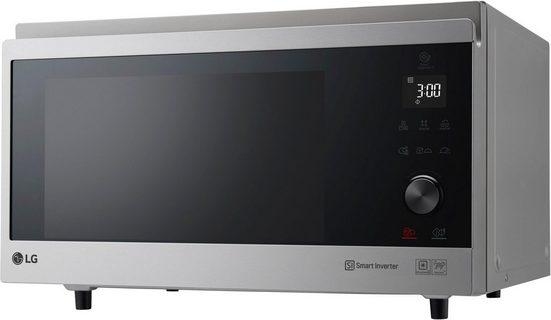 LG Mikrowelle MJ 3965 ACS, 1900 W, Smart Inverter Technologie, echte Glasfront