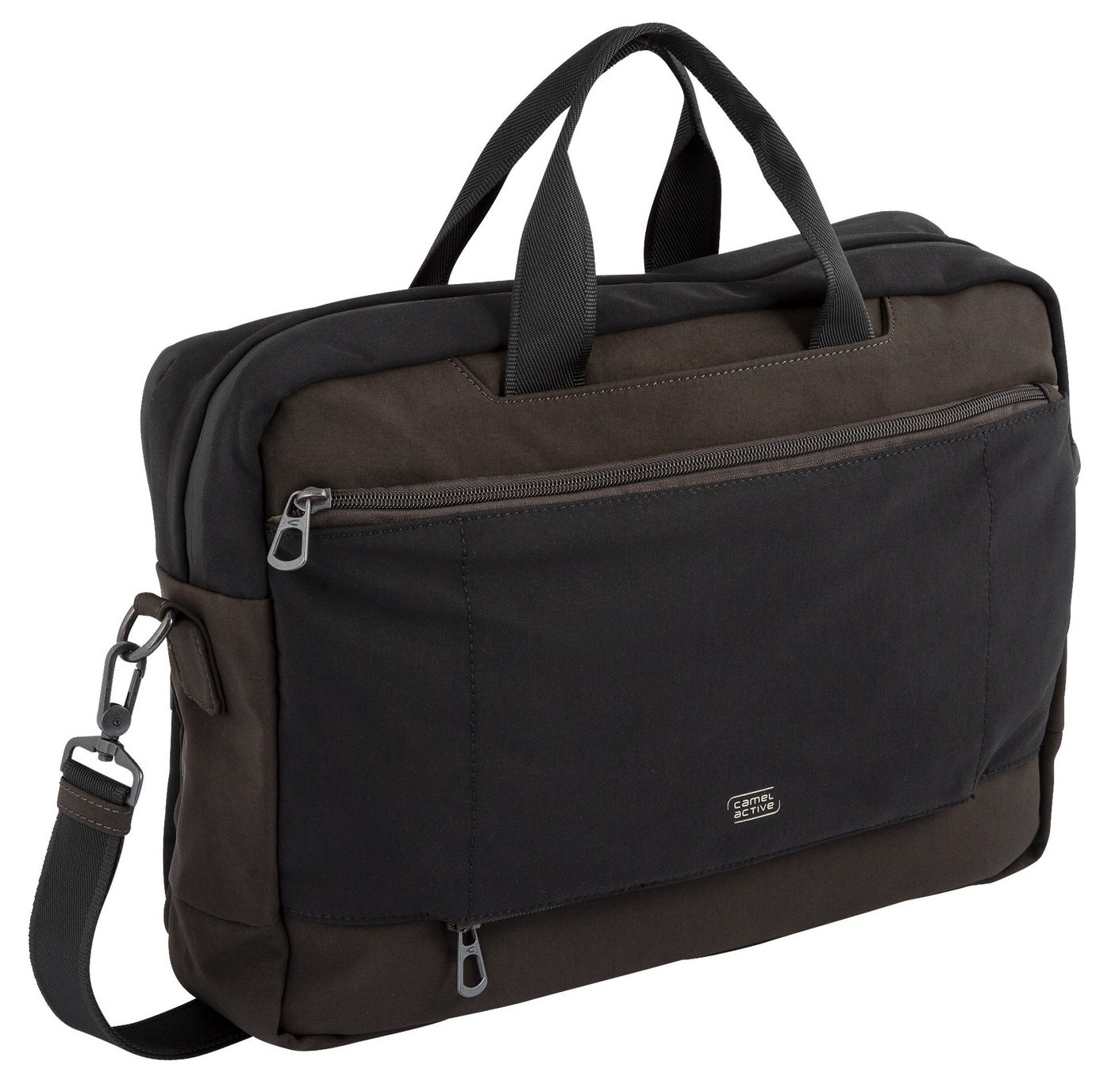 camel active -  Messenger Bag »Brooklyn«, in schickem Businessformat