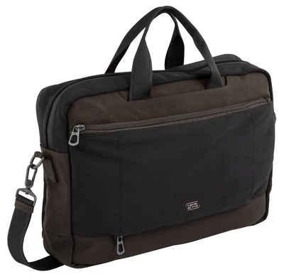 camel active Messenger Bag »Brooklyn«, in schickem Businessformat