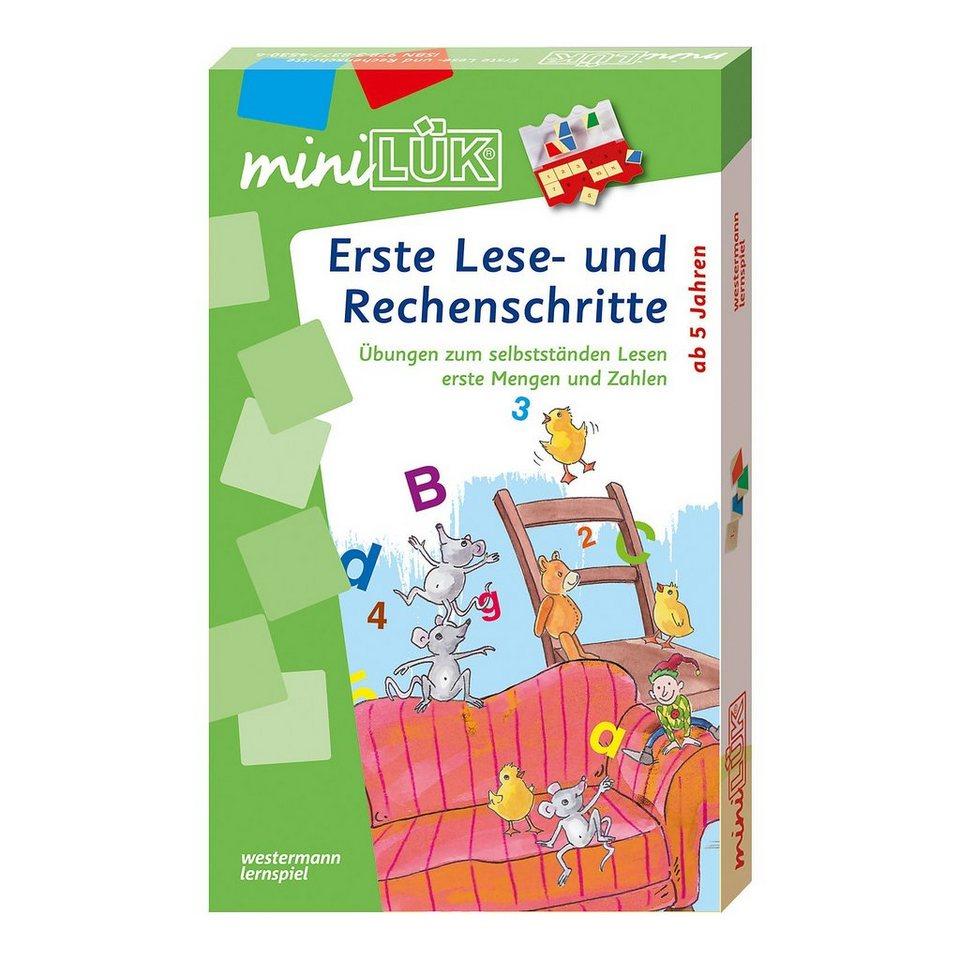 Westermann Verlag mini LÜK-Set: Erste Lese-und Rechenschritte online kaufen